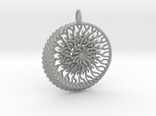 1 piece sun and moon pendant