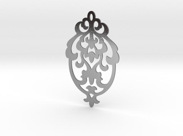BlakOpal Victorian Damask Earring