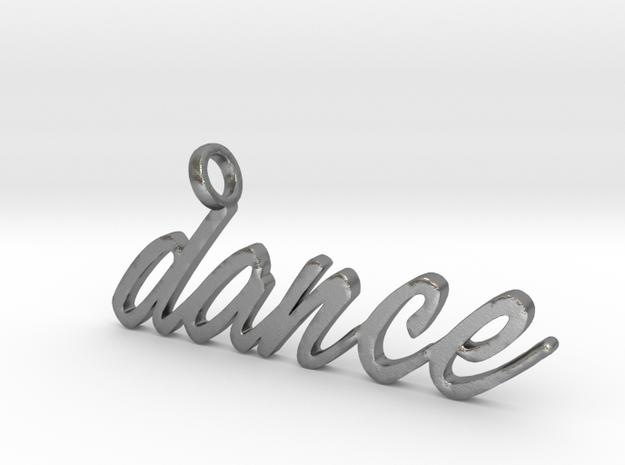Dance Pendant DANCE!!! in Natural Silver