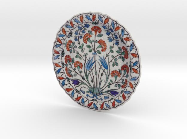 Iznik Polychrome Pottery Dish