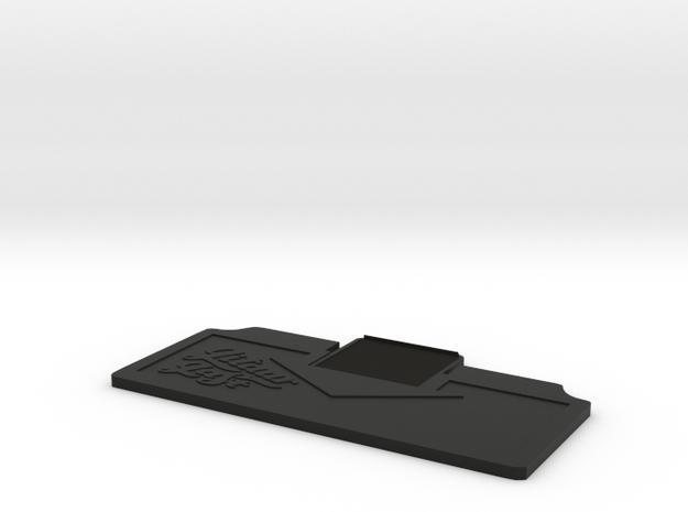 Boss FA-1 / MA-1 Series Battery Lid in Black Natural Versatile Plastic