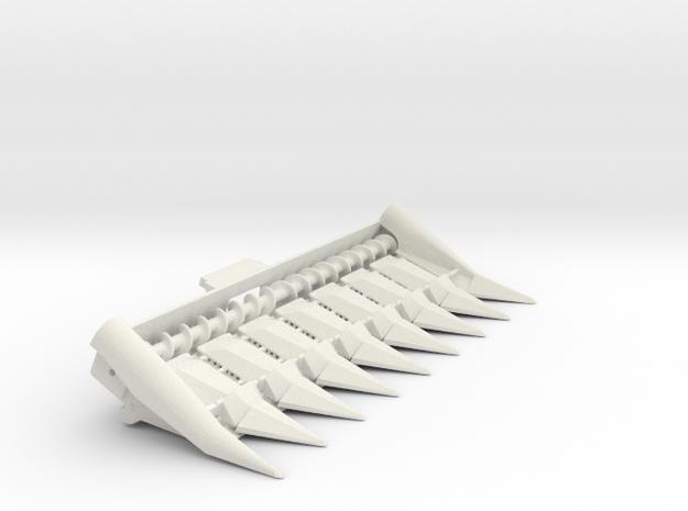 N Series 8 Row in White Natural Versatile Plastic