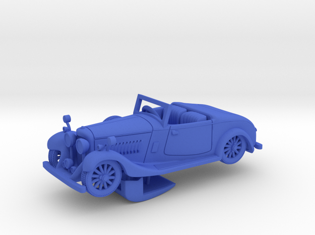 Bentley 1930 4,5L 1:64 in Blue Processed Versatile Plastic