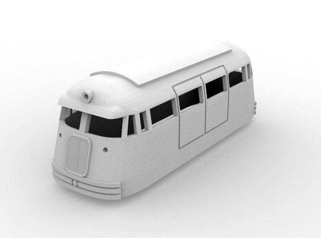 NSWR First Series FP6(HO /1:87 Scale) 3d printed
