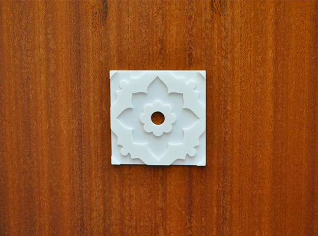 OSMOTILE N°9  in White Natural Versatile Plastic
