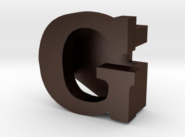 BandBit G for Fitbit Flex in Matte Bronze Steel