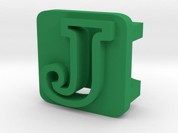 BandBit J for Fitbit Flex in Green Processed Versatile Plastic