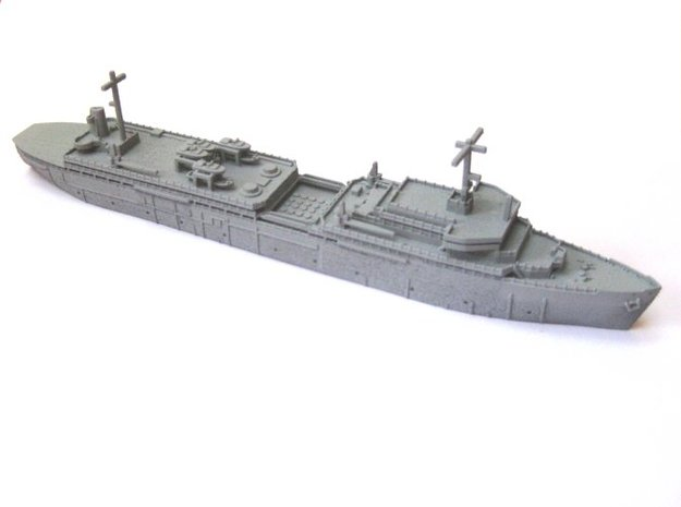 USS Canopus - AS34 (1:1250) in Smooth Fine Detail Plastic