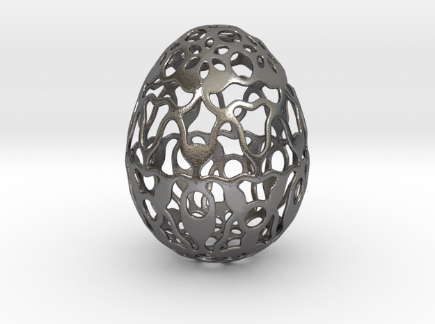 Screen - Decorative Egg - 2.3 inch in Polished Nickel Steel