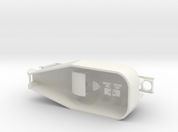 Kipper in White Natural Versatile Plastic