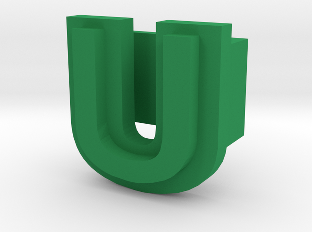 BandBit U1 for Fitbit Flex in Green Processed Versatile Plastic