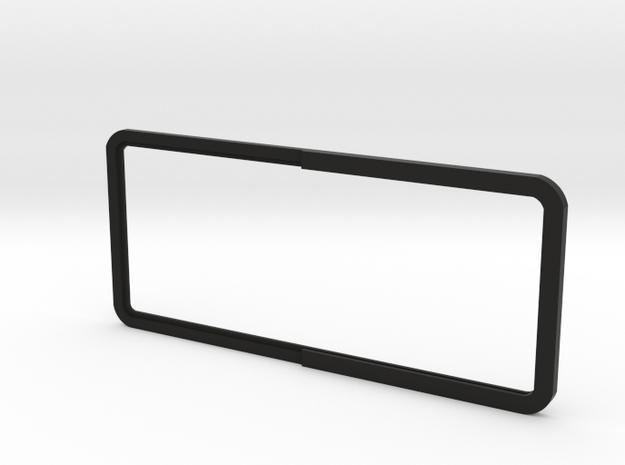 Open Rear Side Window Right D90 D110 Gelande 2/3 in Black Strong & Flexible