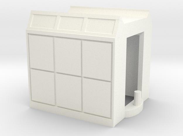 GTW Motorwagen Scale TT Version2    in White Processed Versatile Plastic