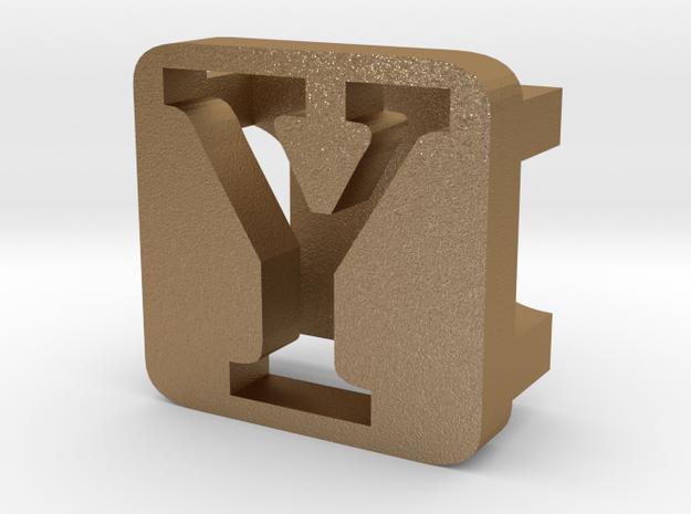 BandBit Y2 for Fitbit Flex in Matte Gold Steel