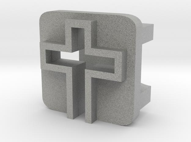 BandBit Cross for Fitbit Flex in Metallic Plastic