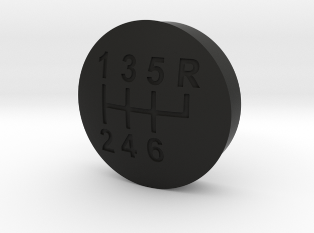 Sterling's Shifter Button in Black Strong & Flexible