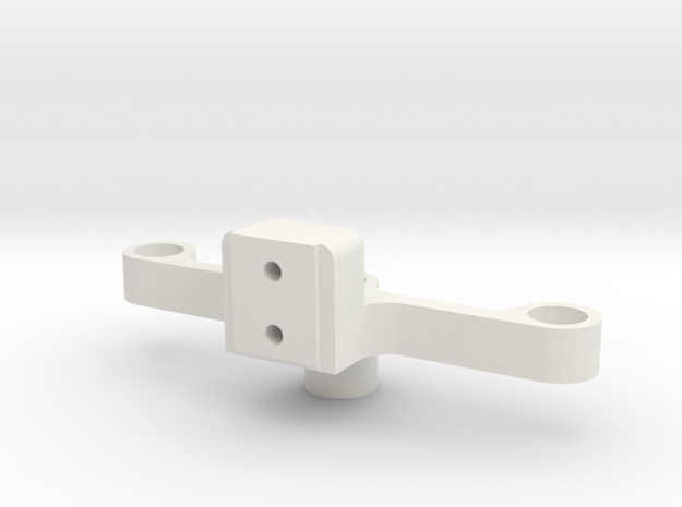 Traverse 1 in White Natural Versatile Plastic