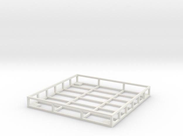 Vaterra Rack in White Strong & Flexible