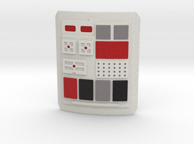 Rebel Pilot Commpad Style 2 V3  in Full Color Sandstone