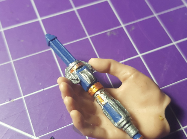12th Doctor Sonic 1/6th scale in Smoothest Fine Detail Plastic