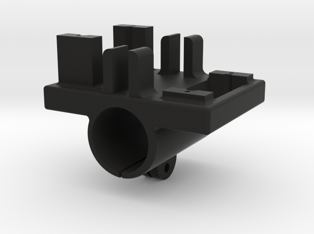 LHMD#0004 (Servo Holder For The Henge 933 servo (F in Black Strong & Flexible
