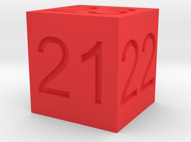 21,22,23 Ride Height Gauge in Red Processed Versatile Plastic