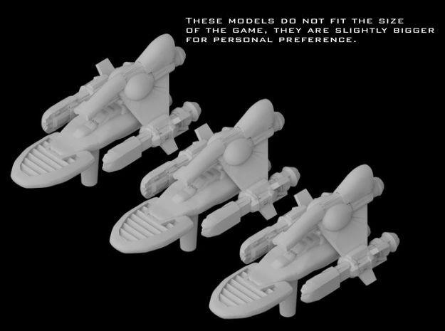 "(Armada) 3x Baudo Yacht ""Pulsar Skate"""