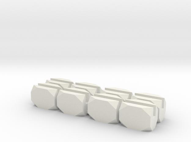 No Bar Block in White Strong & Flexible