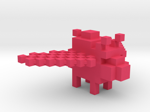 JSW Piggy-0 (Large) in Pink Processed Versatile Plastic