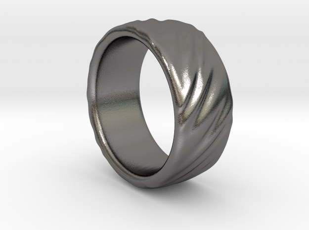 Canvas Ring - 20mm in Polished Nickel Steel