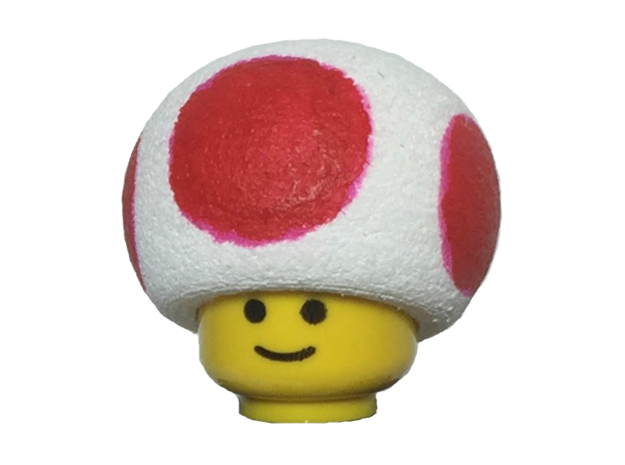 Custom Toad Inspired Lego