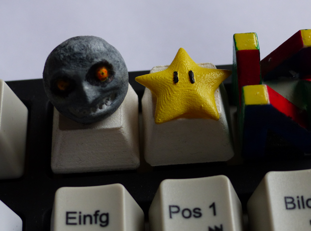 Cherry MX - Keycap - Majora Moon in White Processed Versatile Plastic