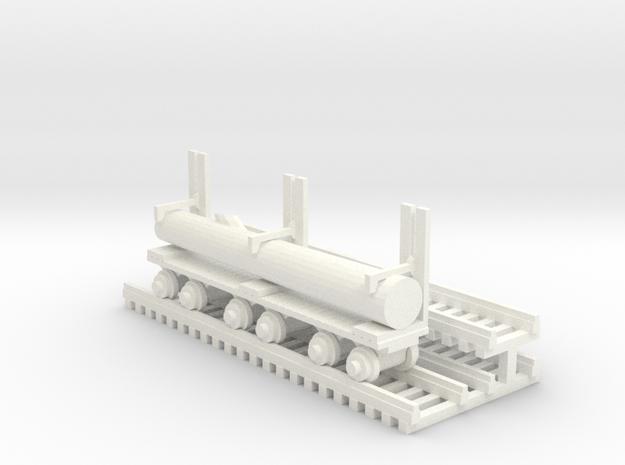 Log Mover+Log - HO 87:1 ScaleLogMover+Log