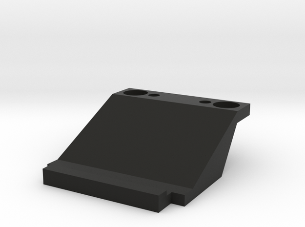 Kyosho Mini-Z Audi R8 Front Body Support in Black Natural Versatile Plastic