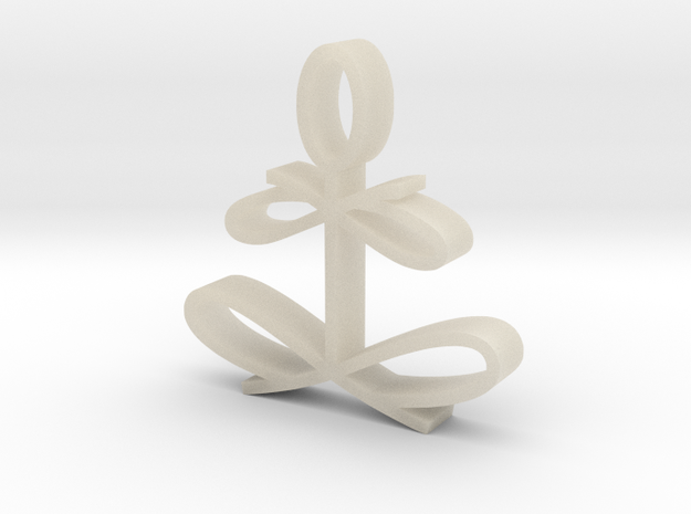 Yoga Glee by Graphic Glee 3d printed