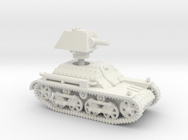 Vickers Light Tank Mk.I (15mm scale) in White Natural Versatile Plastic