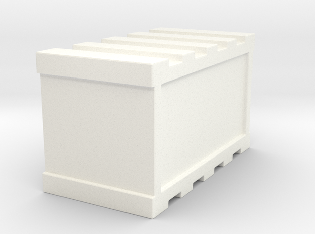De Agostini Smaller cargo bay Crate  in White Processed Versatile Plastic