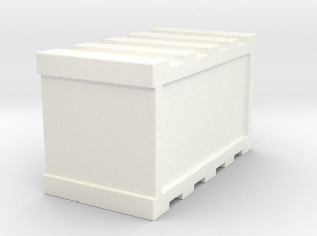 De agostini millennium Falcon Cargo Bay Crate in White Processed Versatile Plastic