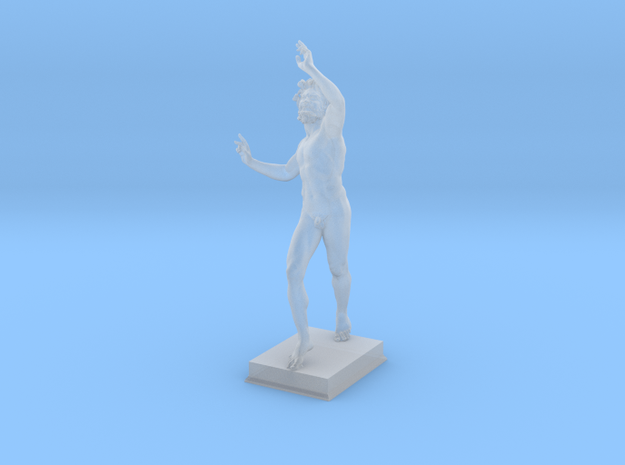 The Dancing Faun of Pompeii in Frosted Ultra Detail
