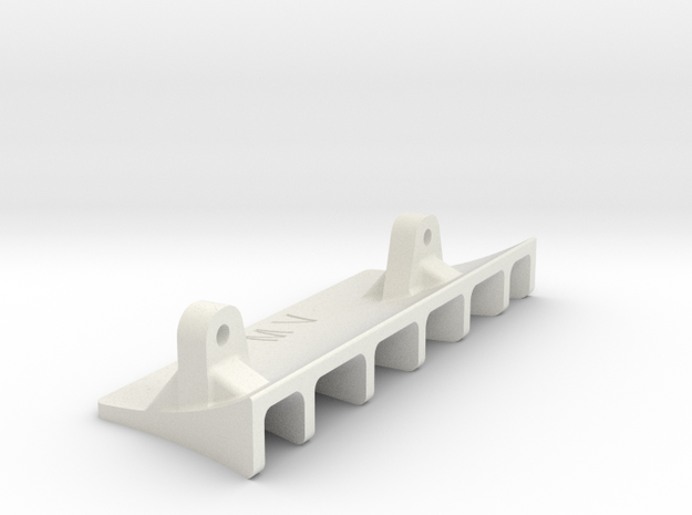Serpent F110 Rear Diffuser in White Strong & Flexible