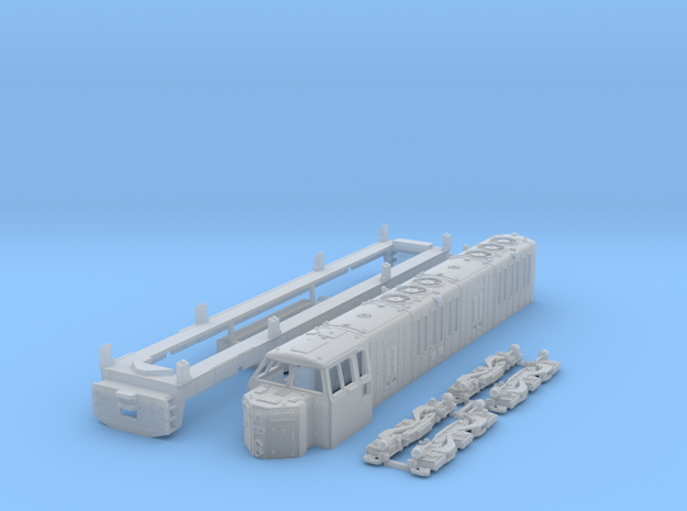 TT Scale ML4000 Hood Unit in Smooth Fine Detail Plastic