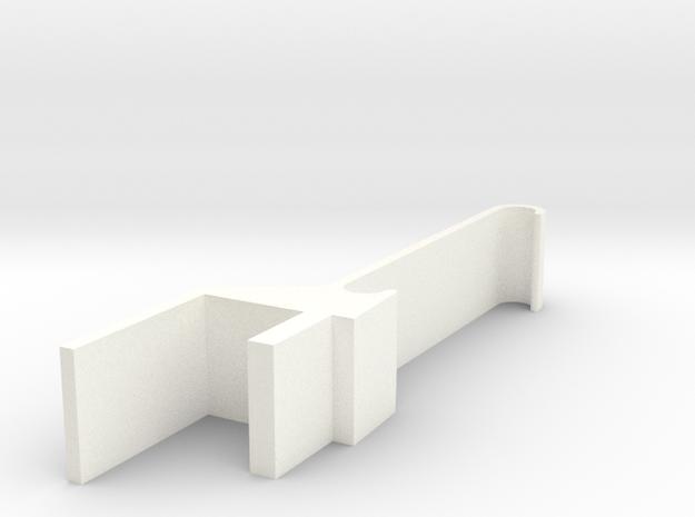 Nes30 Iphone6 Mount in White Processed Versatile Plastic