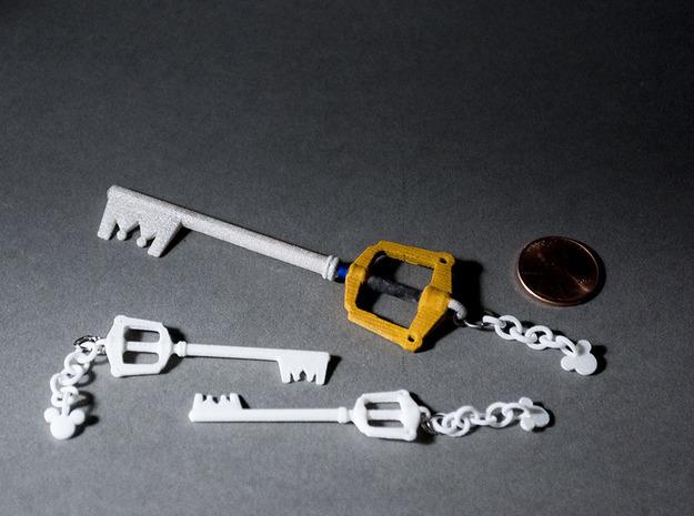 Kingdomblade Earring Pair 3d printed
