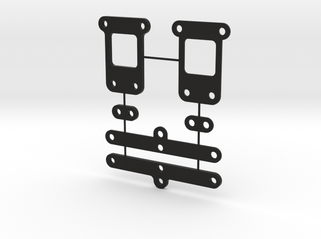 Shims YZ2 in Black Natural Versatile Plastic