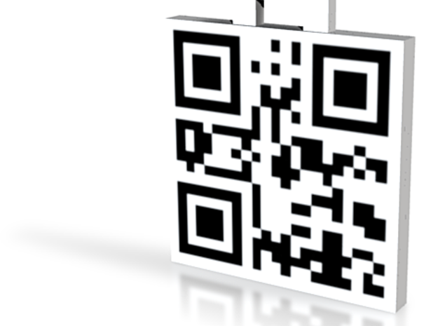 QRCode -- I love you 3d printed
