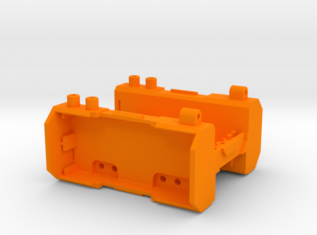 Kyosho Mini-Z Monster MM-01 chassis in Orange Processed Versatile Plastic