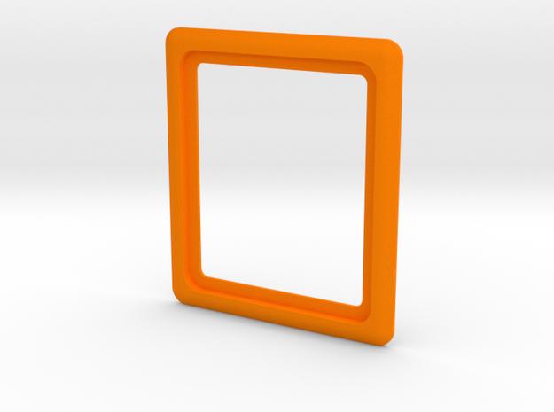 Stern - Plunger Housing Surround in Orange Processed Versatile Plastic