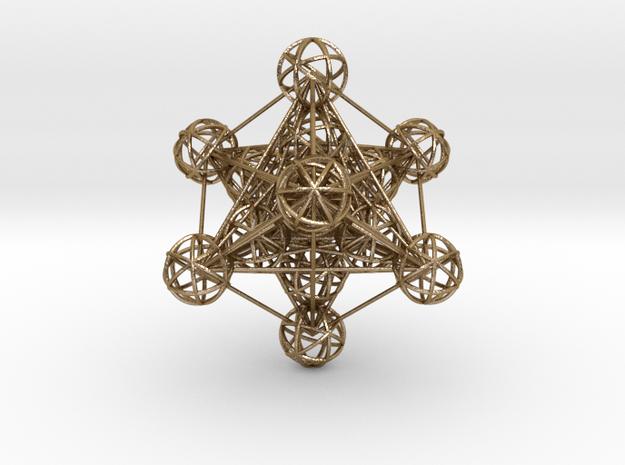 3D Metatron's Cube (large)