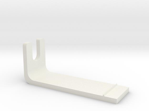 Pioneer PLX-1000 Overhang Gauge in White Strong & Flexible