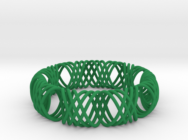 bracelet spirals 1 3d printed